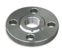 Nickel Alloy Threaded Flanges Manufacturer and Exporter